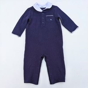 Janie and Jack Quilted Romper